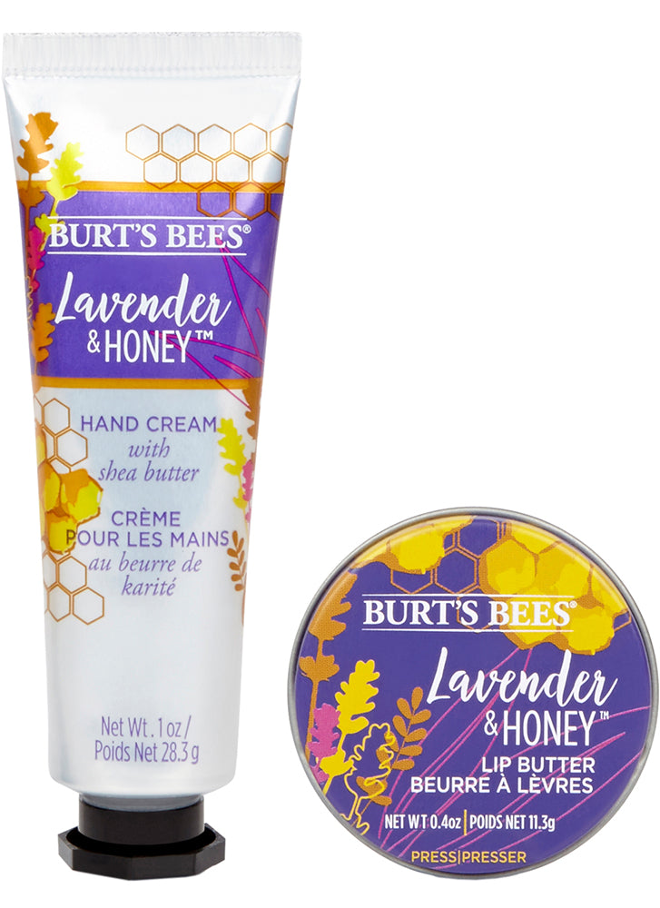 Burt's Bees Lavender & Honey Hand and Lip Kit