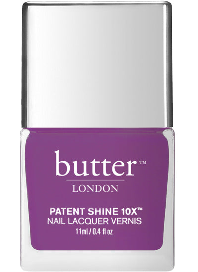 Butter London Patent Shine 10X Nail Lacquer Purple ACE