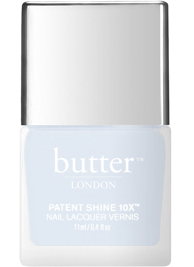 Butter London Patent Shine 10X Nail Lacquer Blue CANDY FLOSS