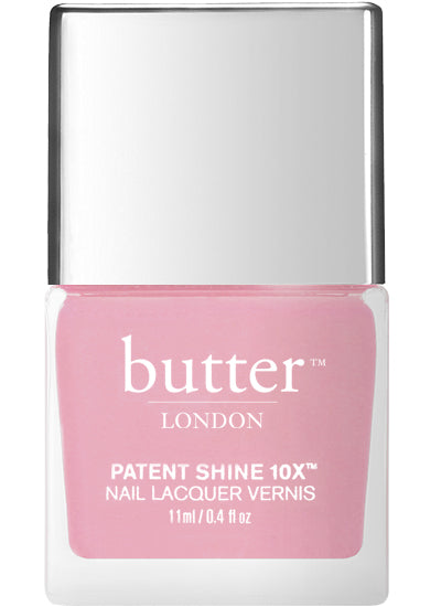 Butter London Patent Shine 10X Nail Lacquer Pink LOVERLY