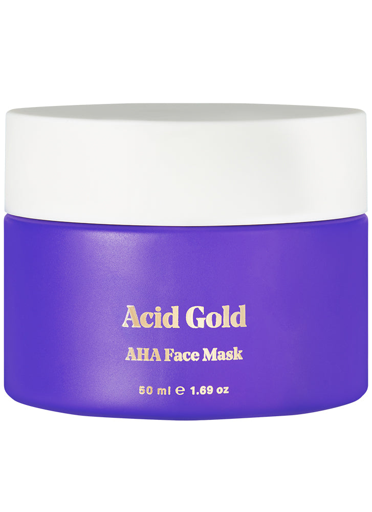 BYBI Beauty Acid Gold Face Mask