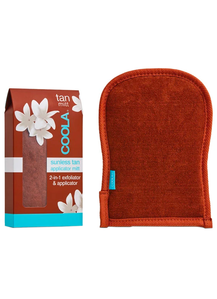 Coola Sunless Tan 2-in-1 Applicator Exfoliator Mitt