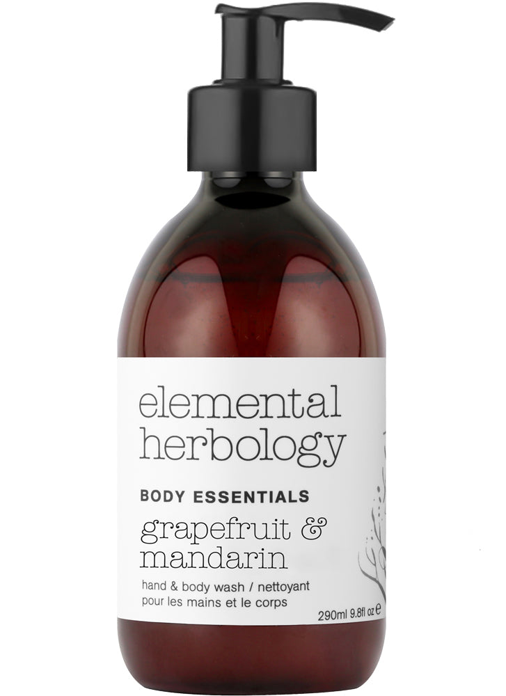 Elemental Herbology Grapefruit & Mandarin Body Wash