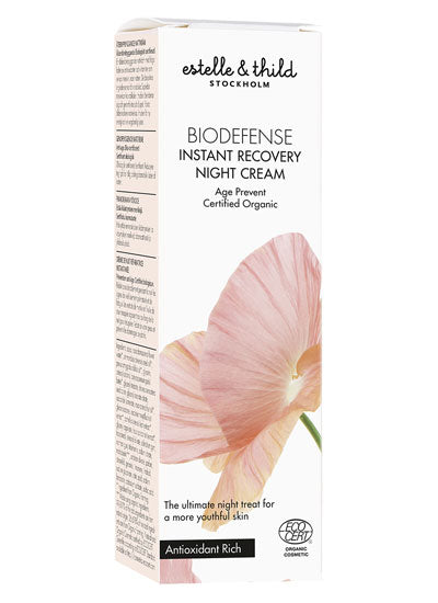 Estelle & Thild BioDefense Instant Recovery Night Cream
