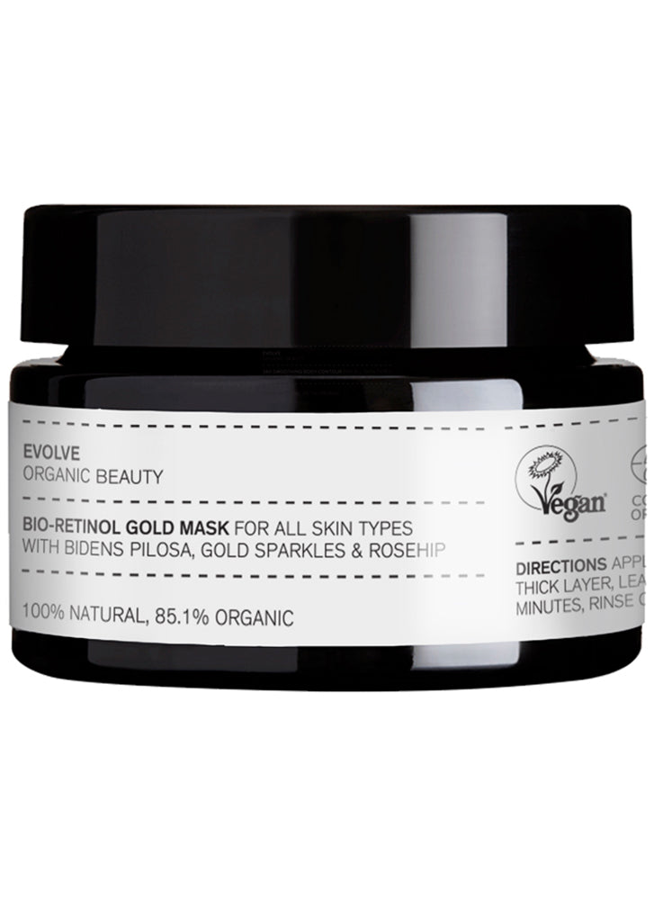 Evolve Bio Retinol Gold Mask 30ml