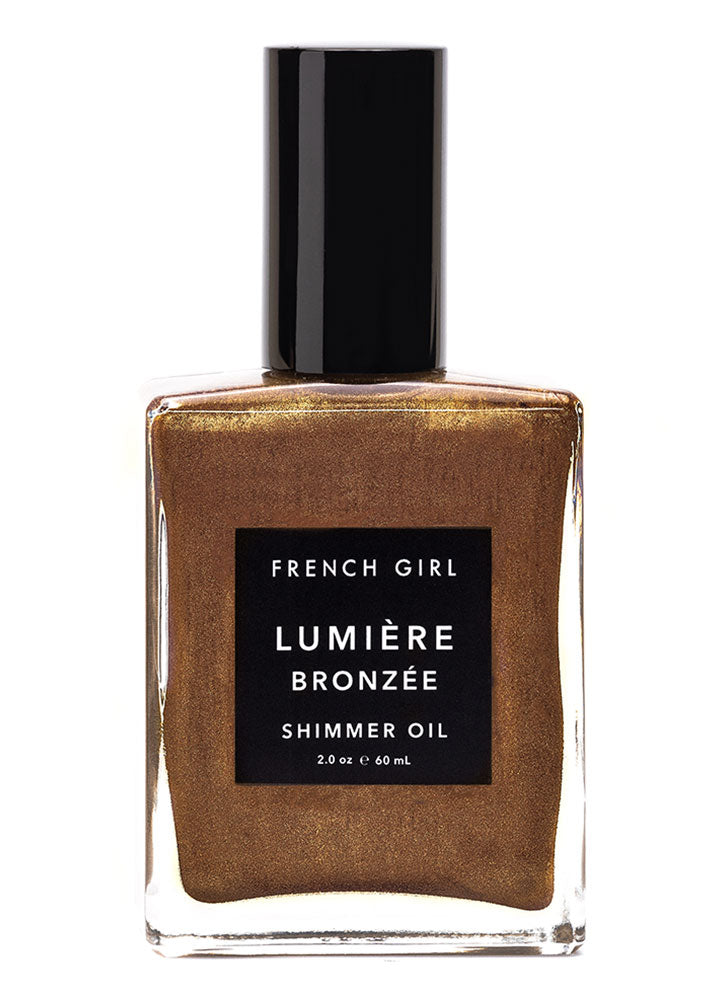 French Girl Lumiere Bronze Shimmer Oil