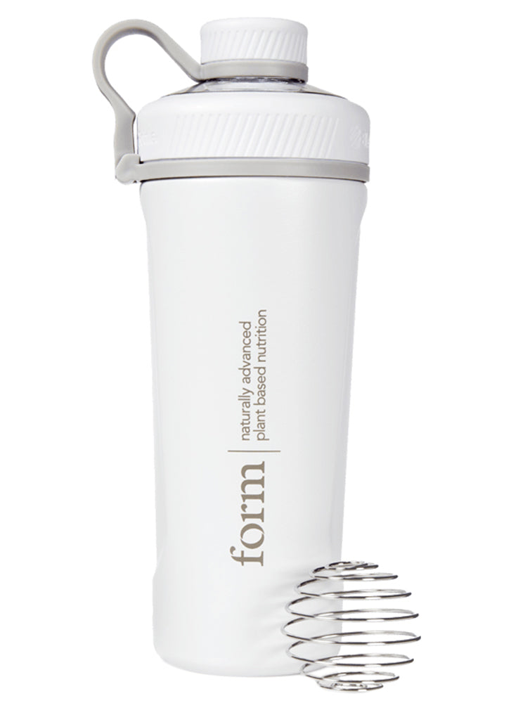 Form Nutrition Insulated Stainless Steel Shaker White