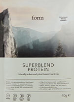Form Nutrition Superblend Protein Chocolate Salted Caramel sample