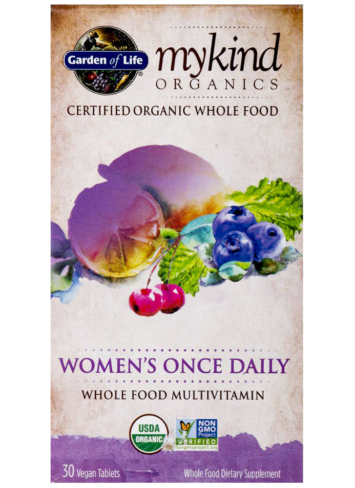 Garden Of Life mykind Organics Women's Once Daily