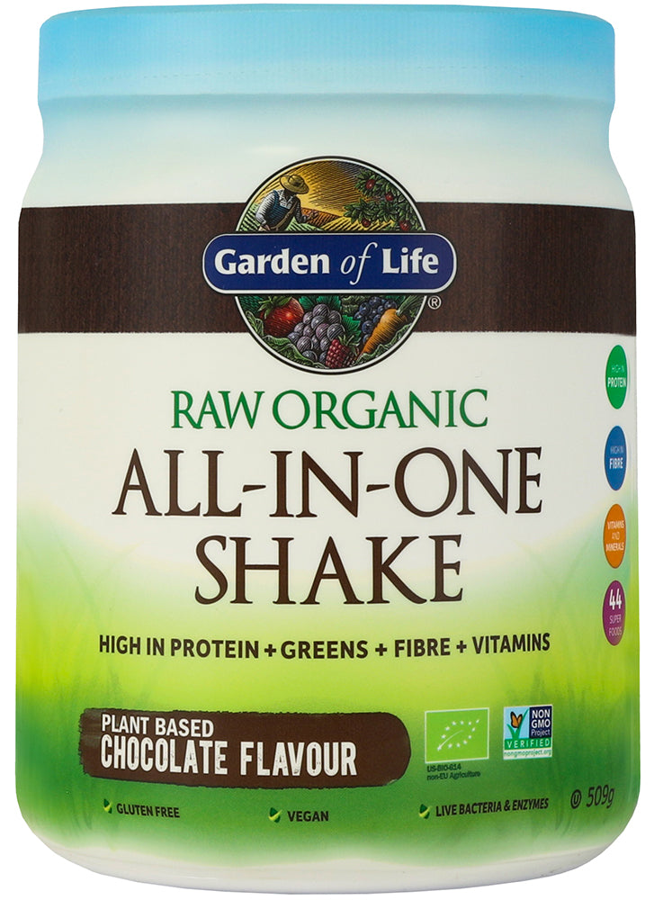 Garden of Life Organic All In One Shake Chocolate