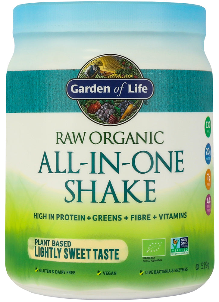 Garden of Life Organic All In One Shake Lightly Sweet