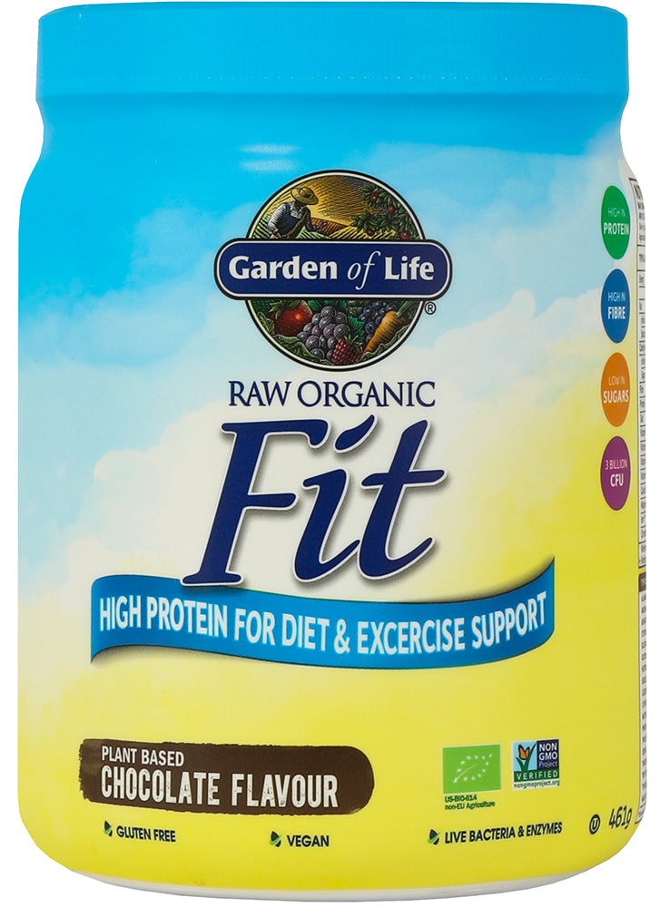 Garden of Life Organic Fit Protein Powder Chocolate