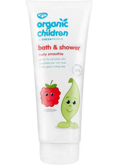 Green People Children Bath & Shower Berry Smoothie