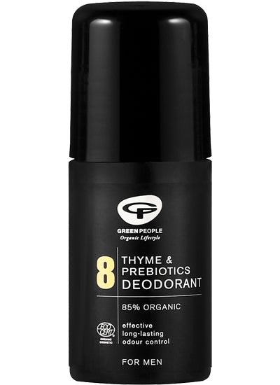 Green People Men 8 Thyme & Prebiotics Deodorant