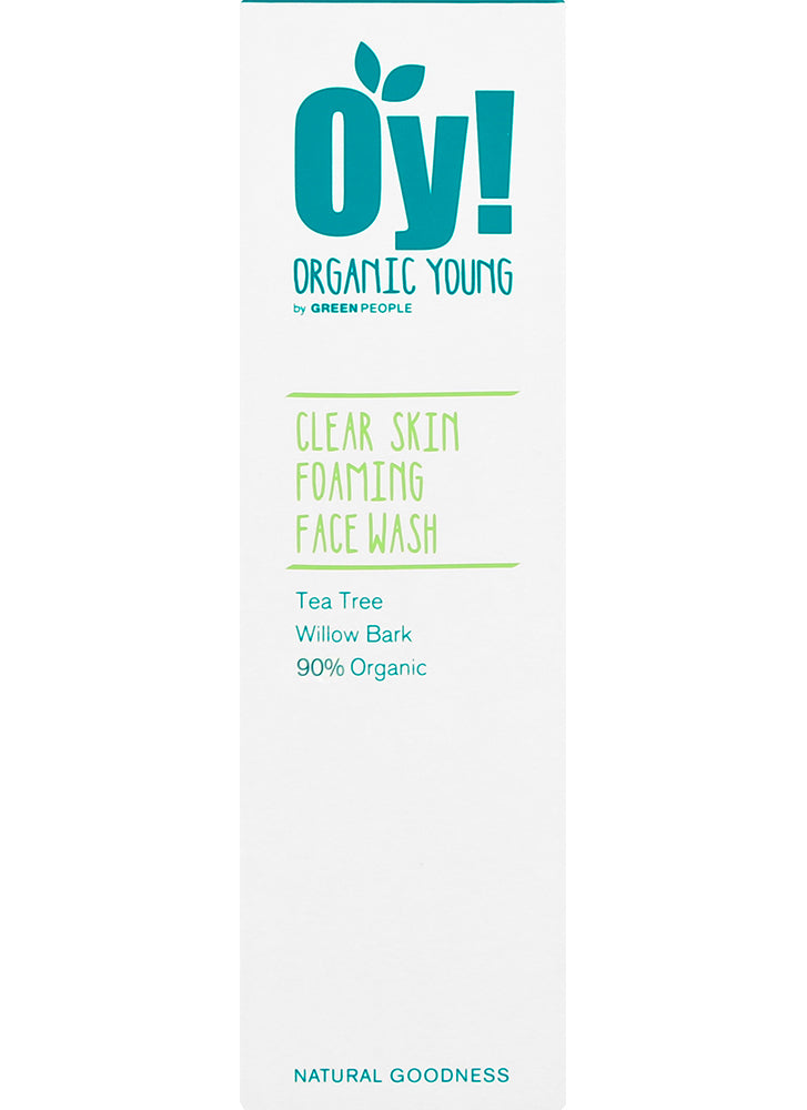 Green People OY Clear Skin Foaming Face Wash
