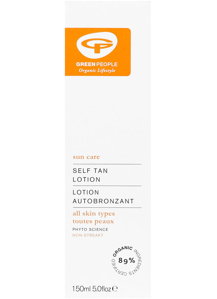 Green People Self Tan Lotion