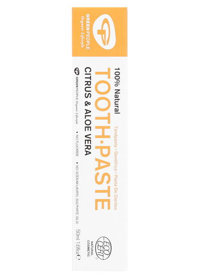 Green People Citrus & Aloe Vera Toothpaste