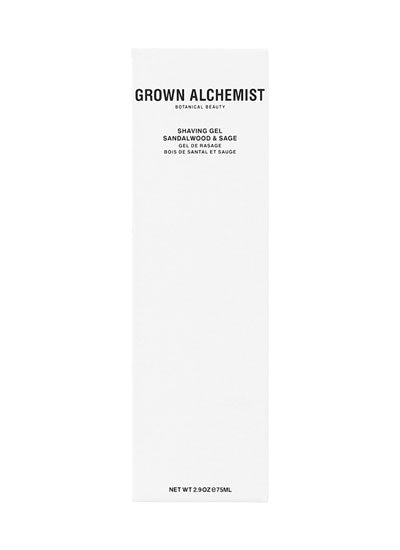 Grown Alchemist Sandalwood & Sage Shaving Gel