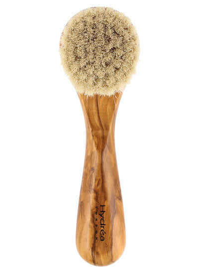 Hydrea Olive Wood Soft Facial Brush