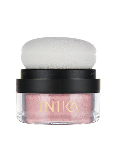 Inika Mineral Blush Puff Pot