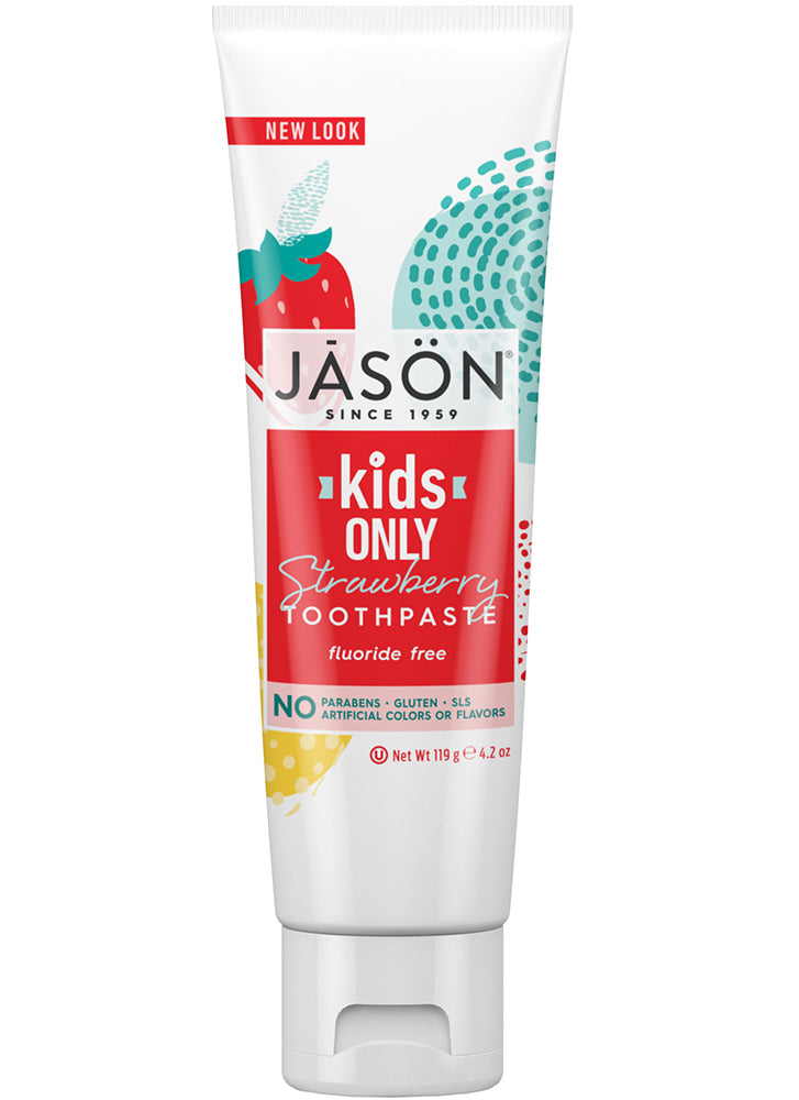 Jason Kids Only Strawberry Toothpaste