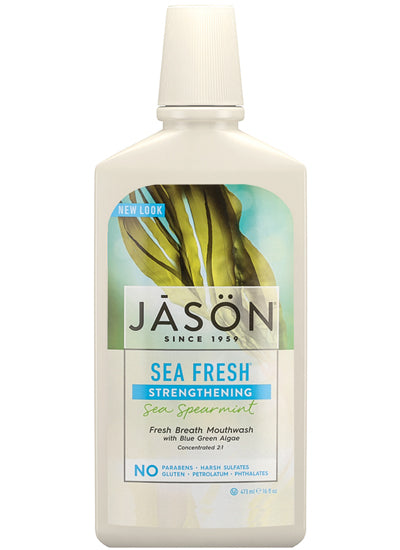 Jason SeaFresh Strengthening Sea Spearmint Mouthwash