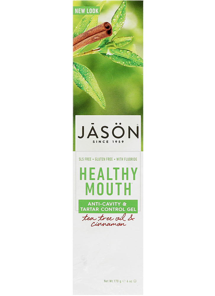 Jason Healthy Mouth Tartar Control Fluoride Toothgel