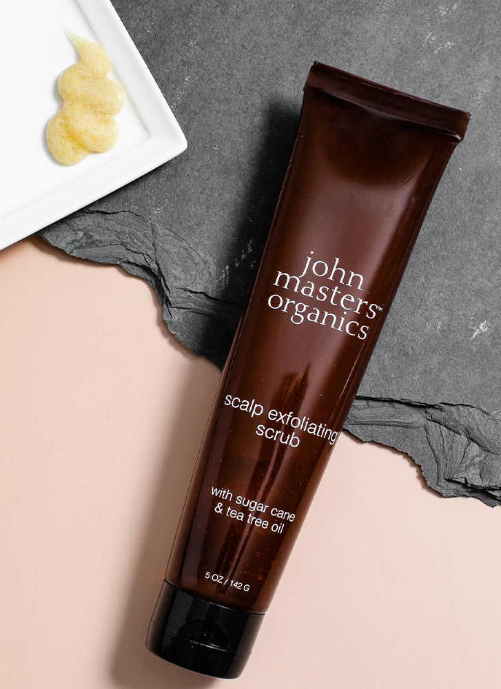 John Masters Scalp Exfoliating Scrub with Sugar Cane & Tea Tree Oil