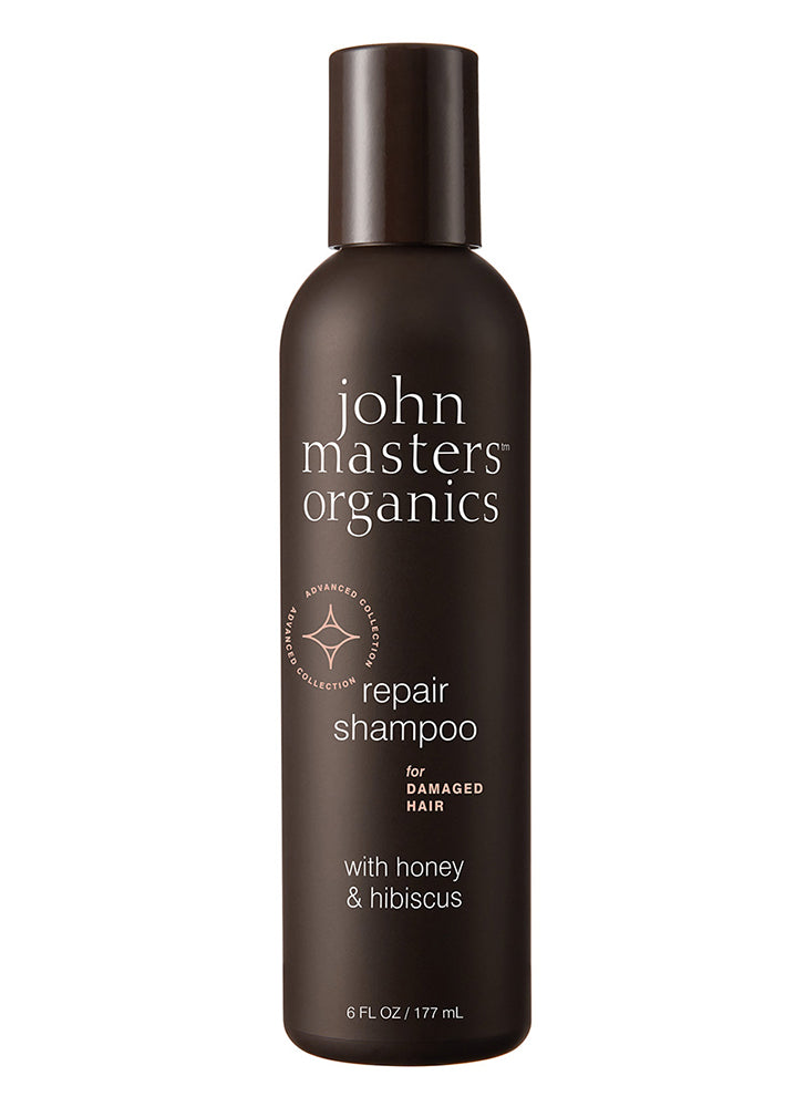 John Masters Shampoo for Damaged Hair with Honey & Hibiscus