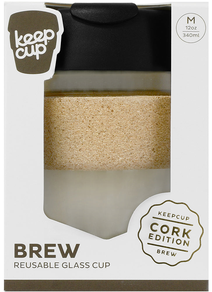 KeepCup Brew Cork Glass Espresso
