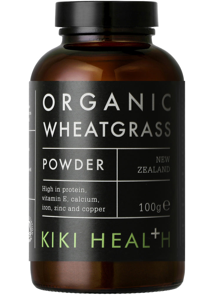 KIKI Health Organic Premium Wheatgrass Powder
