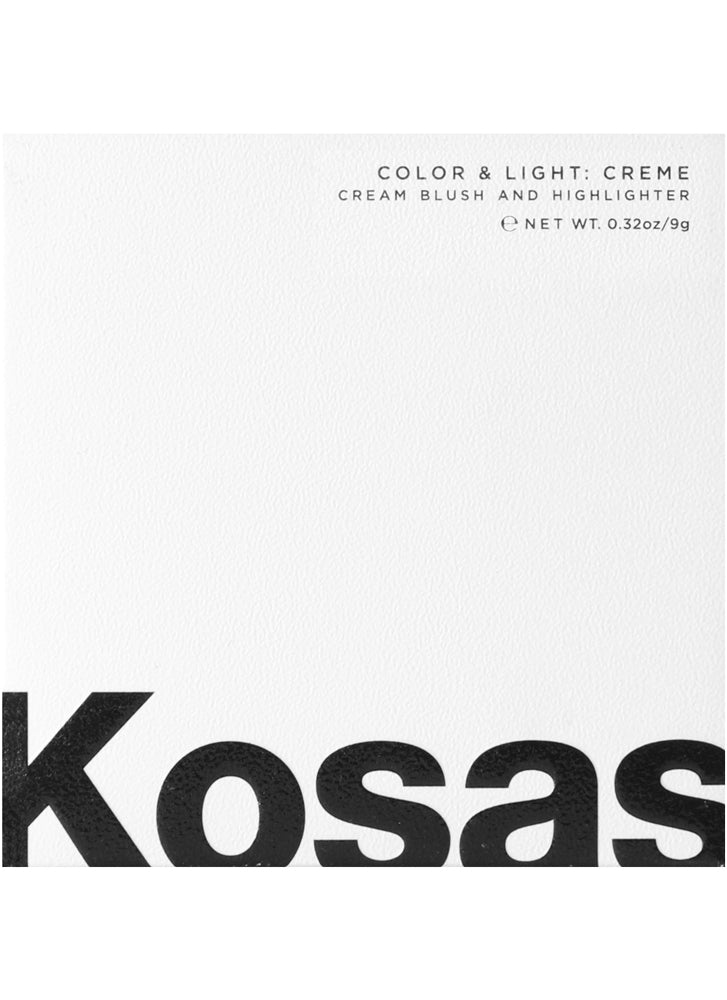 Kosas Cheek/Highlighter Creme Color + Light