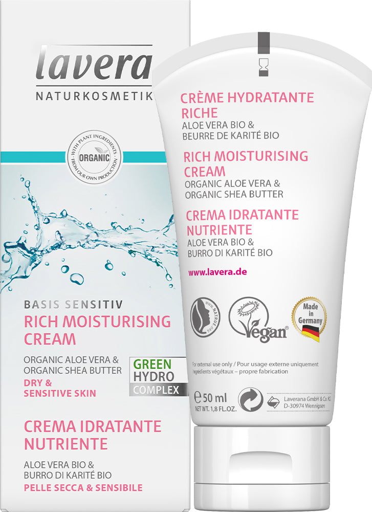 Lavera Basis Rich Moisturising Cream