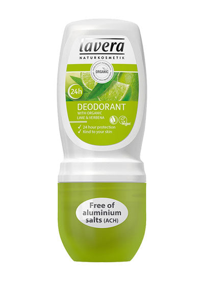 Lavera Refreshing Lime Deodorant Roll On