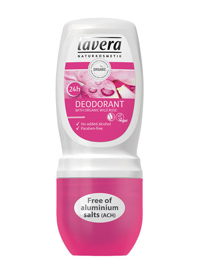 Lavera Pampering Rose Deodorant Roll On