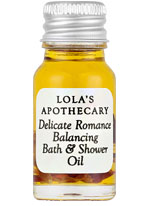 Lola's Apothecary Bath & Shower Oil Delicate Romance sample