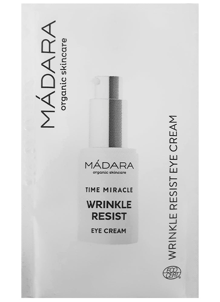 Madara Time Miracle Wrinkle Resist Eye Cream sample
