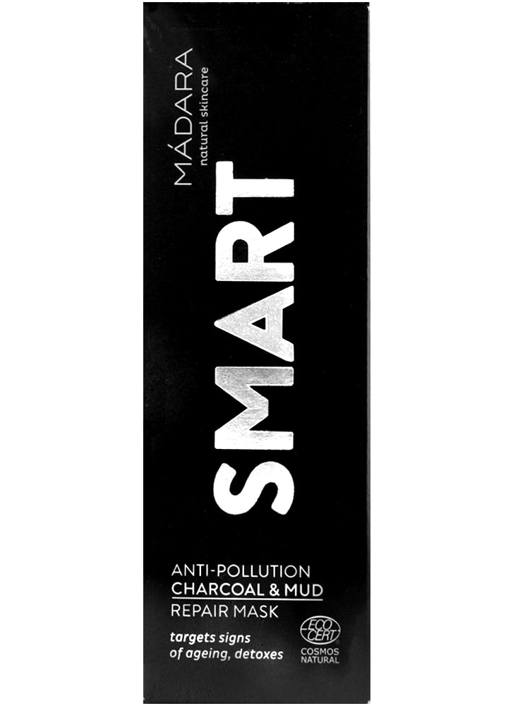 Madara Smart Anti Pollution Charcoal & Mud Repair Mask