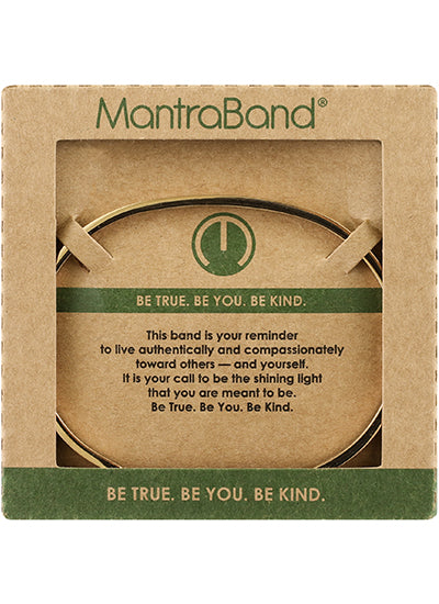 MantraBand Be True Be You Be Kind Bracelet ROSE GOLD