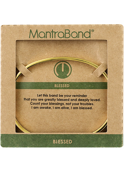 MantraBand Blessed Bracelet GOLD