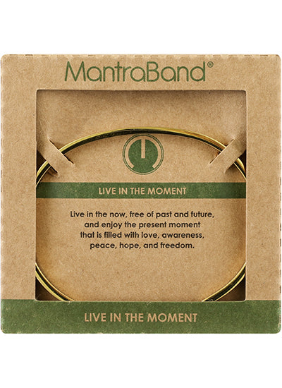 MantraBand Live In The Moment Bracelet ROSE GOLD