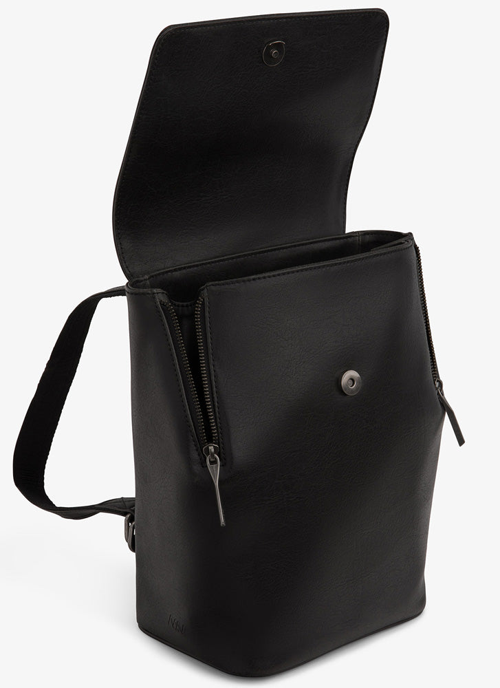 Matt & Nat Fabi Mini Backpack Black