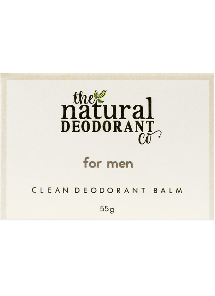 Natural Deodorant Co Clean Deodorant Balm For Men