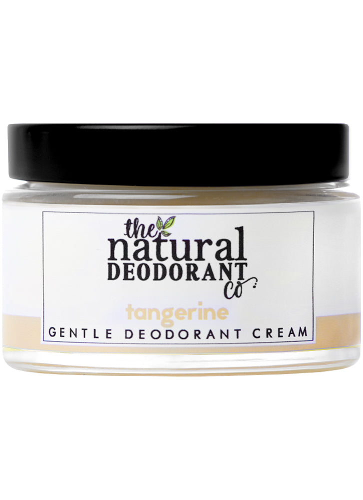 Natural Deodorant Co Gentle Deodorant Cream Tangerine