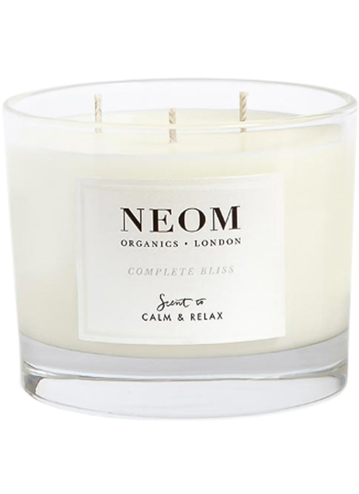 Neom Complete Bliss Scented Candle (3 Wicks)