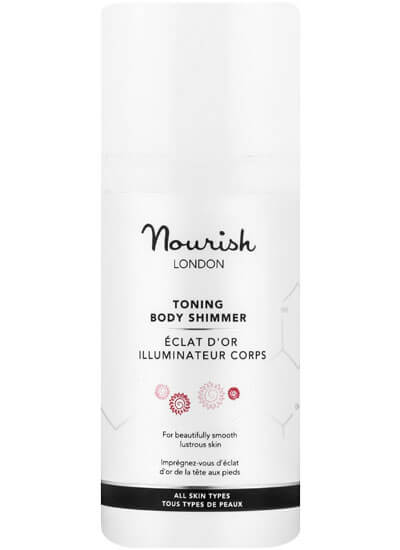 Nourish London Golden Glow Toning Body Shimmer