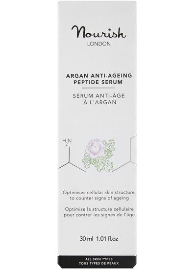 Nourish London Argan Anti Ageing Peptide Serum