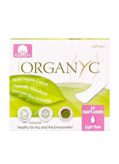 Organyc Panty Liners Wrapped