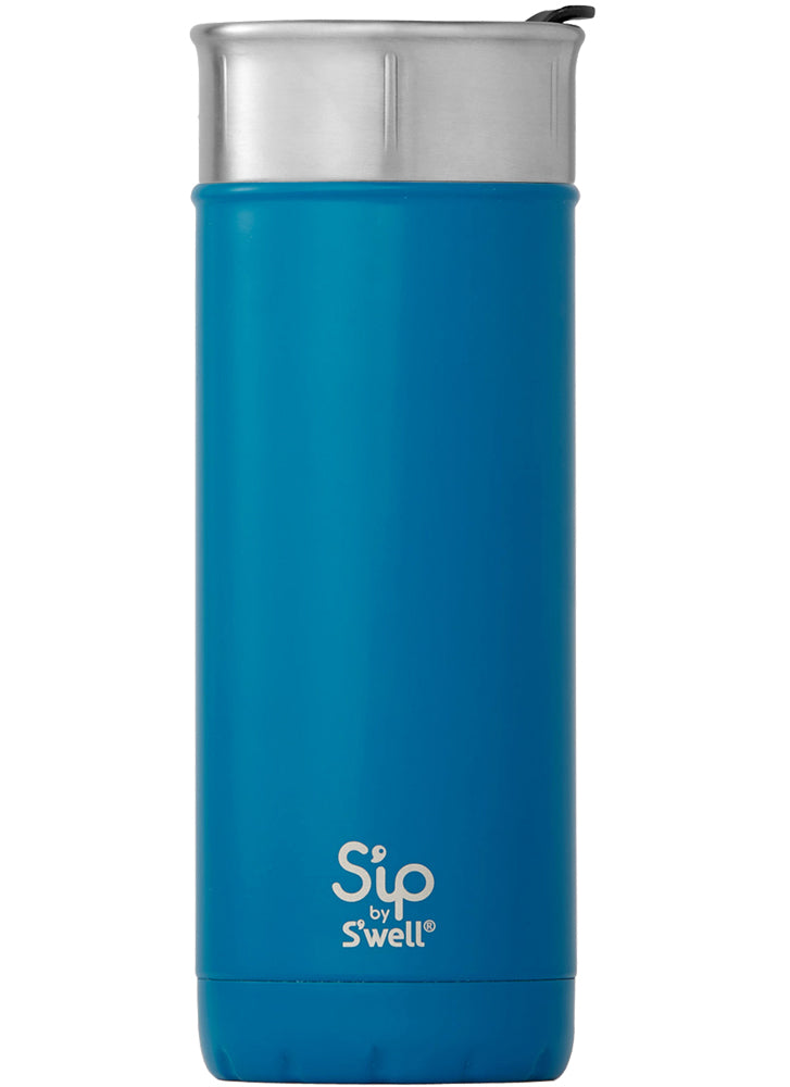 S'well S'ip Jersey Blue Travel Mug 470ml