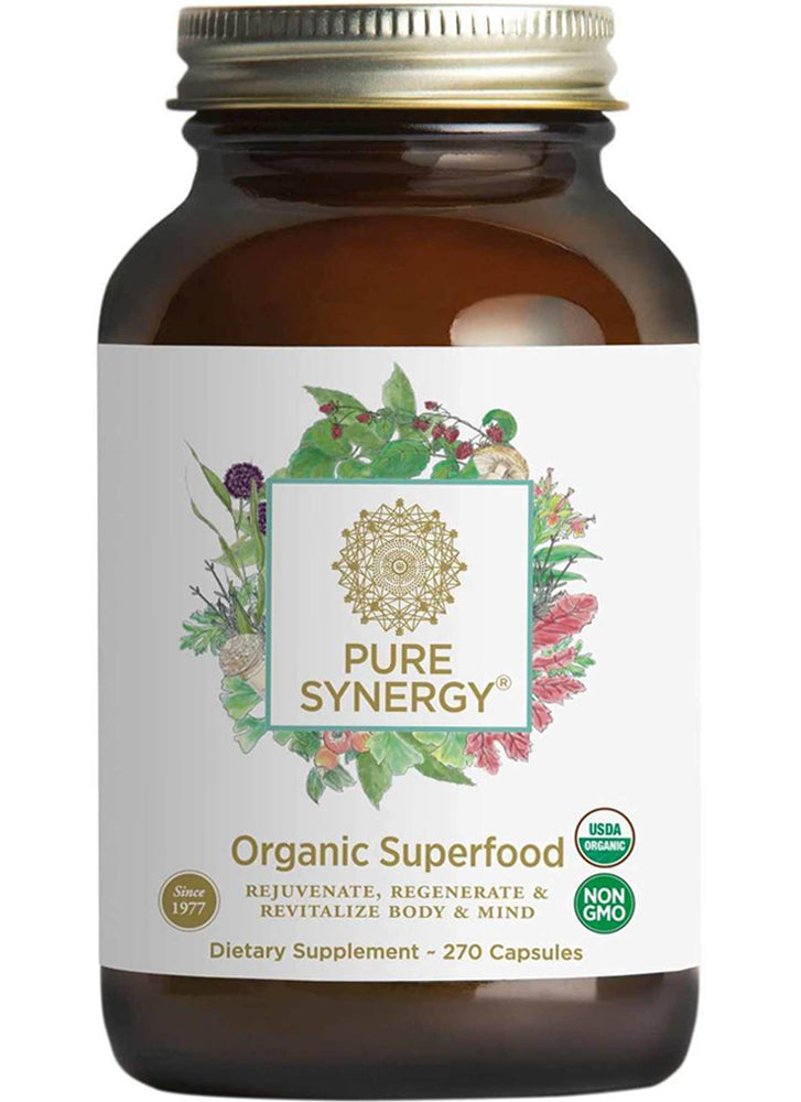 The Synergy Company Pure Synergy Organic Superfood Capsules